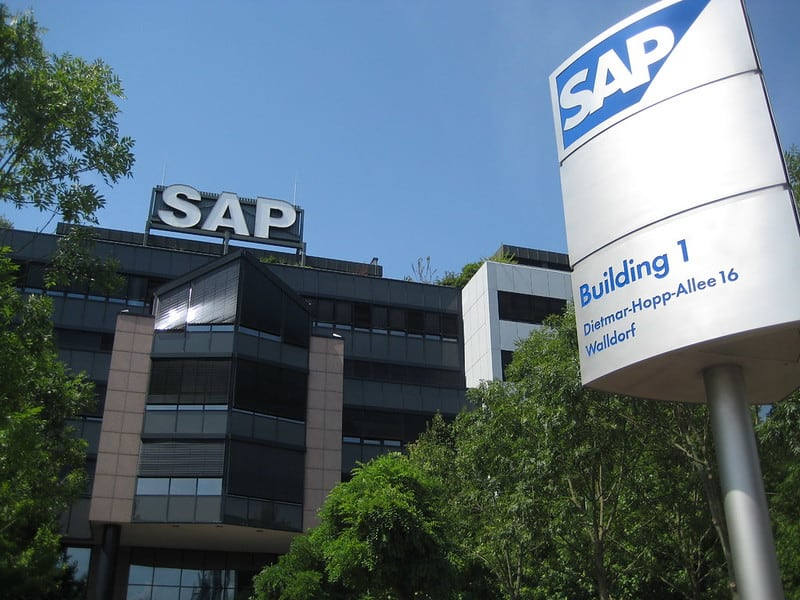 משרדי SAP בוולדורף שבגרמניה