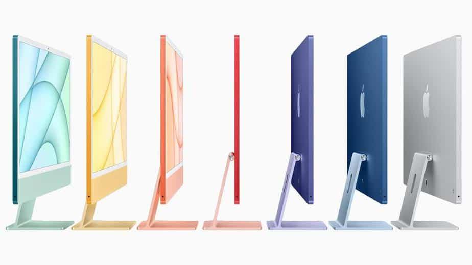דגמי ה-iMac החדשים של אפל
