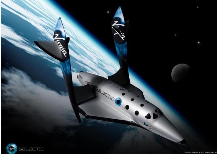 החללית של Virgin Galactic