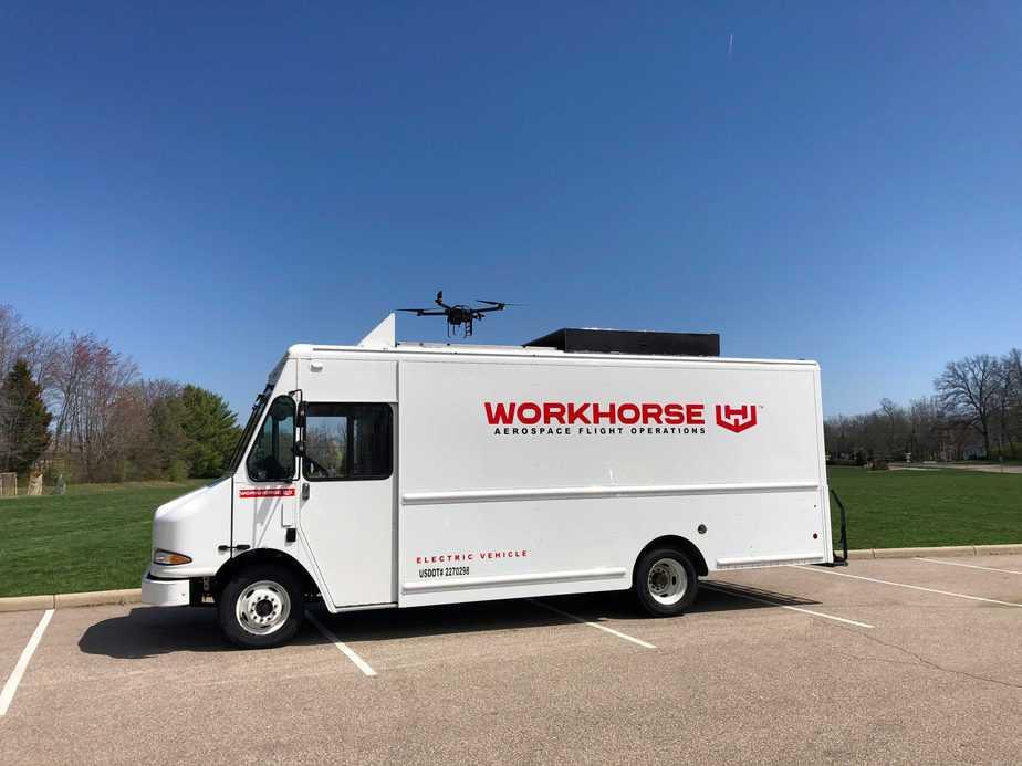 רכב מסחרי ורחפן מתוצרת וורקהורס המתבססים על אנרגיה חשמלית
