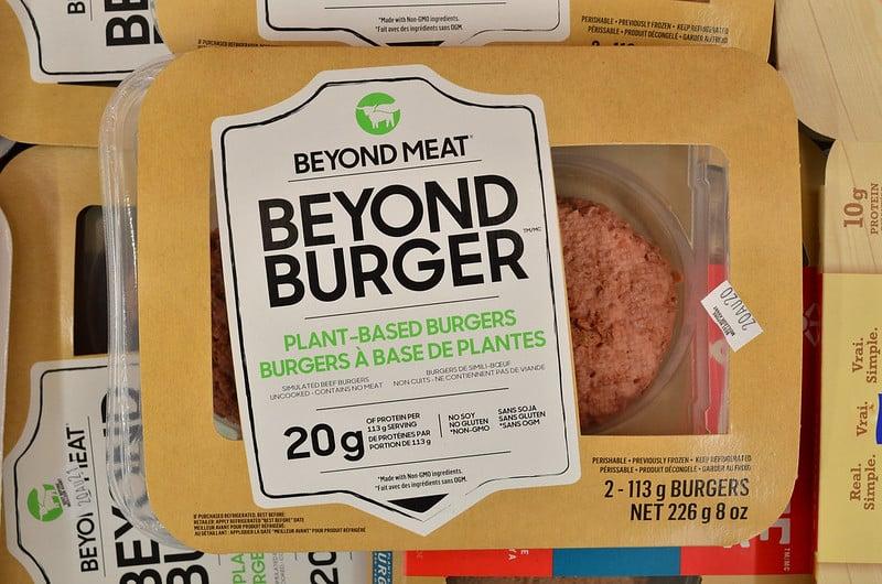 המבורגר צמחוני של חברת ביונד מיט