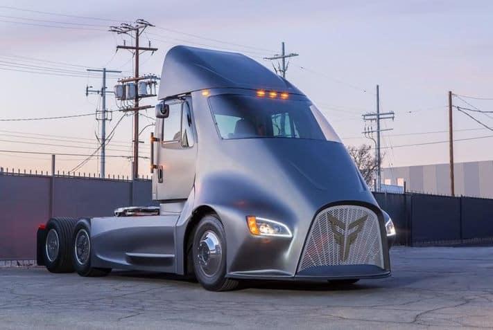 המשאית של XoS. התמזגה לספאק NextGen Acquisition מוקדם יותר השנה
