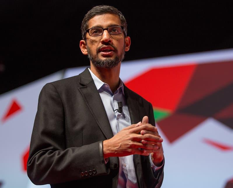 "סונדאר פיצ'איי, מכהן כמנכ""ל גוגל מאז שנת 2015"